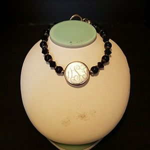 Jewelry - Silver and Onyx braclet